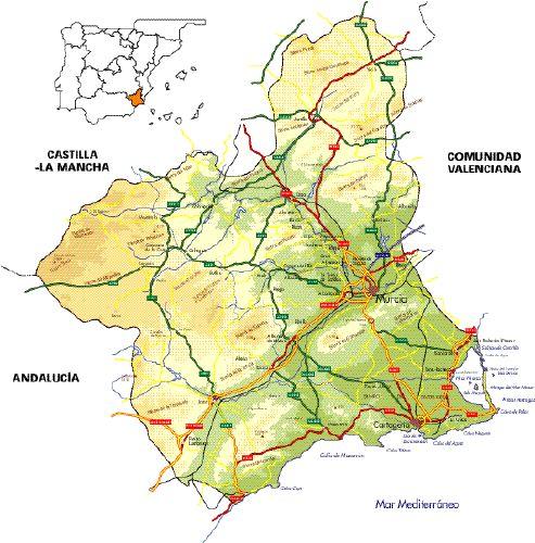 Pueblos De Region De Murcia